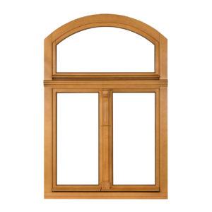 okno drewno sosna trzyskrzydłowe- rekonstrukcja