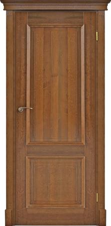 drzwi z pełnego drewna, głębokie frezy, drzwi z koroną