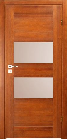 ANDY - drzwi drewno, szyba matowa hartowana, zawiasy nawierzchniowe