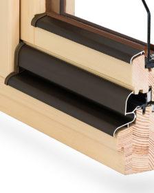profil okna drewnianego 68 Komfort
