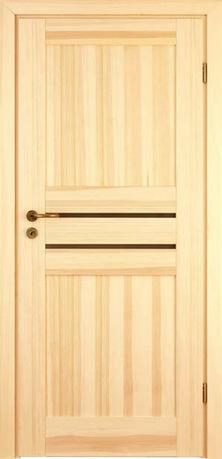 MADRYT- drzwi drewniane, system przylgowy, waskie przeszklenia