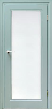 NOVIS 4 -drzwi drewniane, duże przeszklenie- szyba hartowana bezpieczna