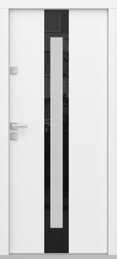 Eco Polar Passive C3 biały z panelem szklanym