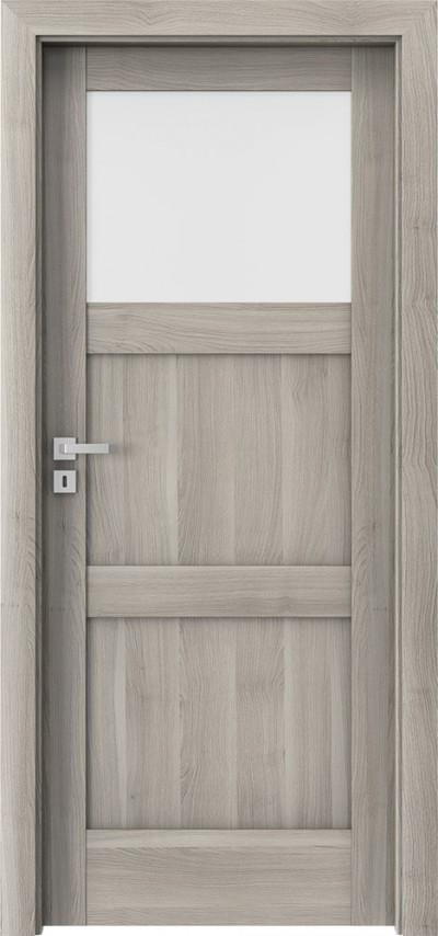 verte N1 akacja srebrna synchro 3D, drzwi klasyczne, 1 szyba