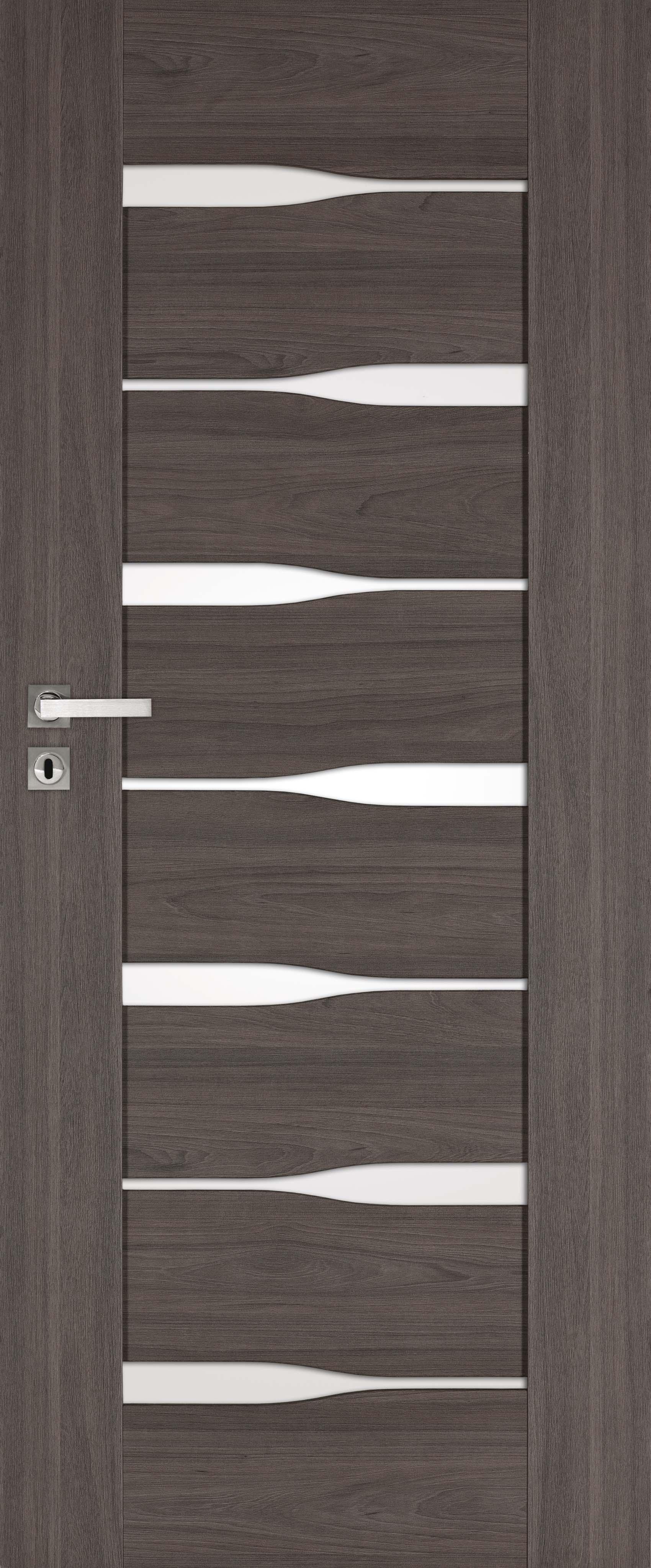 Emena Dre, kolor okleiny-wiąz tabac, drzwi ramowe, przylgowe i bezprzylgowe