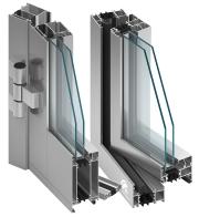 system aluminiowy MB-70 do okien i drzwi zewnętrznych