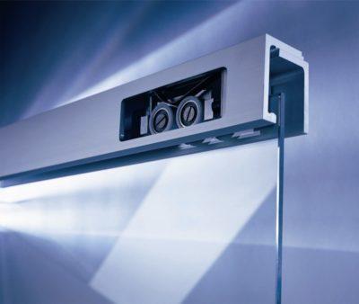 system przesuwny Dorma Agile 150, do drzwi szklanych do 150 kg