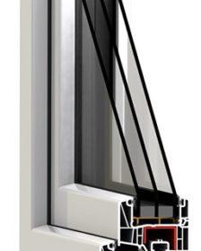 profil okna energooszczędnrgo