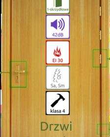 drewniane drzwi ppoż EI30