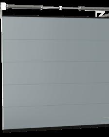 segmentowa brama garażowa do domów energooszczędnych