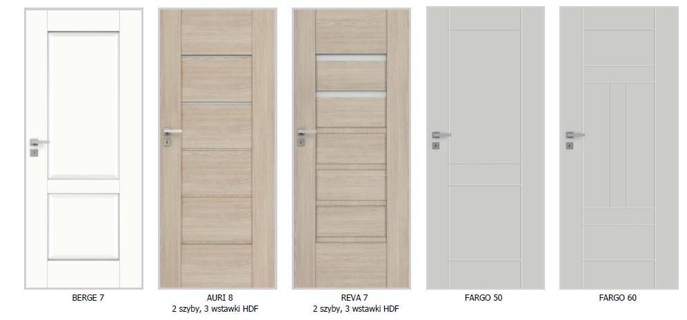 Nowe modele w kolekcjach drzwi wewnętrznych DRE